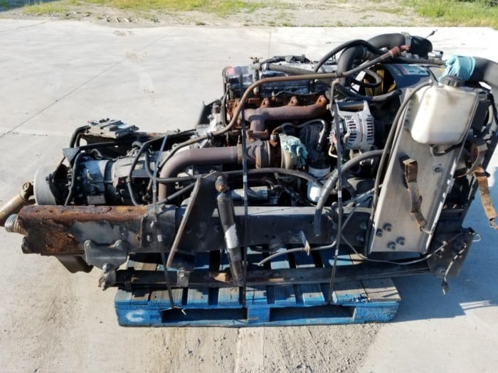 Cummins 4bt Commonrail Frame cut