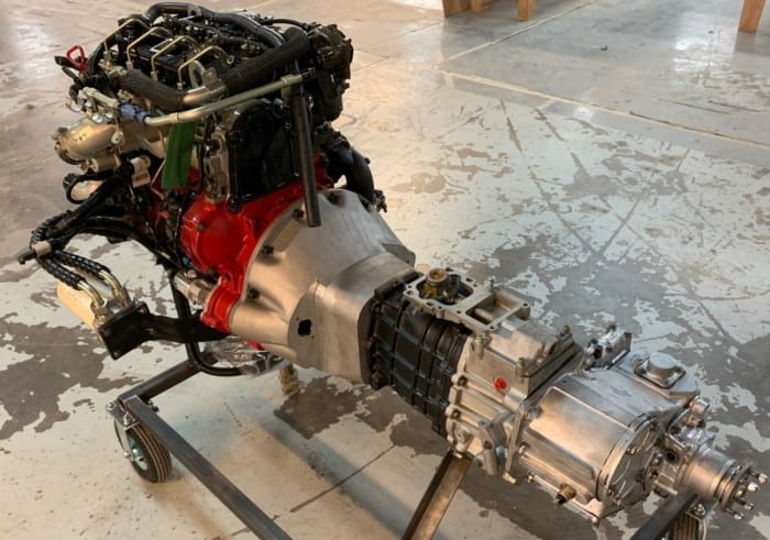 Cummins 2.8 to Land Rover 5 speed R380 factory transmission
