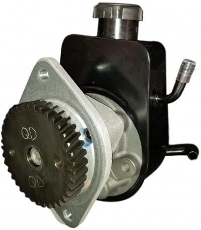 Vacuum delete power steering pump