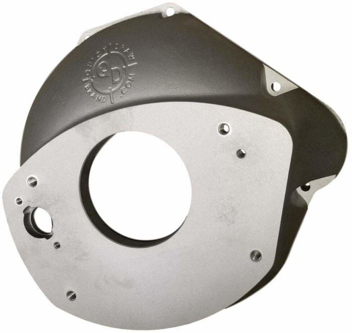 Coyote bell housing to NV4500