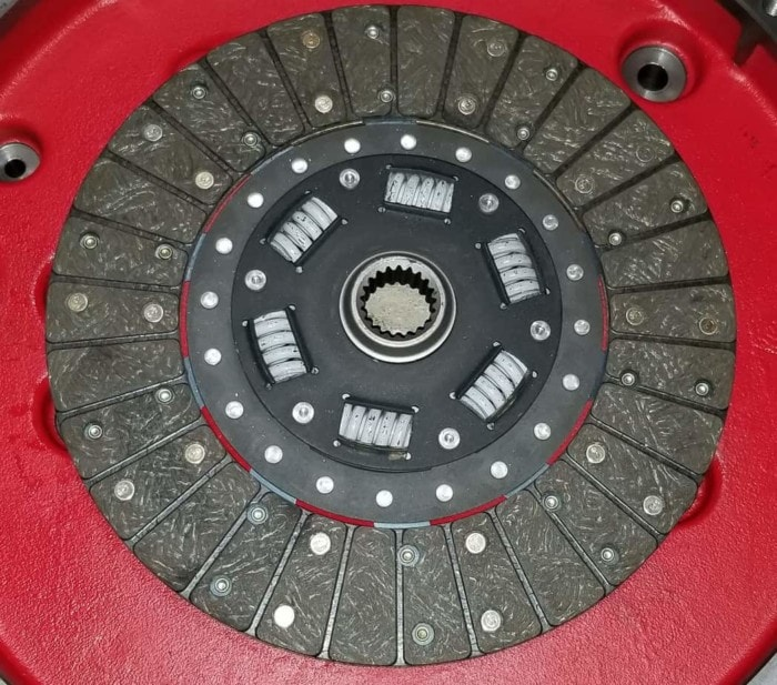 Clutch plate for quick draw brand R2.8 to R150 transmission