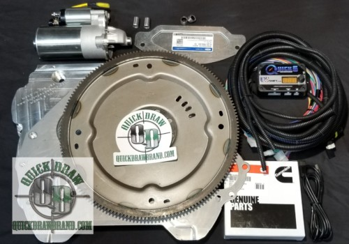Cummins R2.8 Ford 6R80 adapter kit w US shift