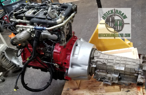 Cummins R2.8 automatic 4HP24 Land Rover ZF