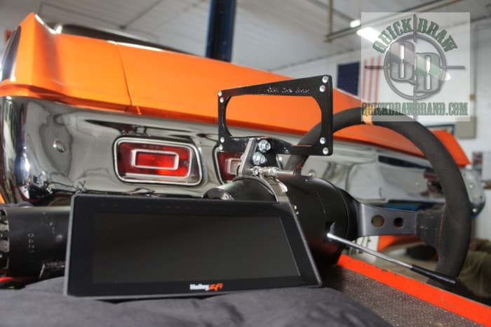 Up view Mount for Holley EFI