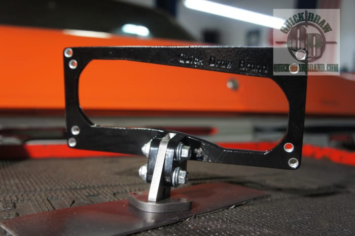 Assemble view Mount for Holley EFI